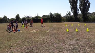 primo allenamento con Nico Giocamp 2017