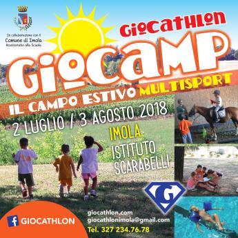 Giocamp 2018- campo estivo Giocathlon 1