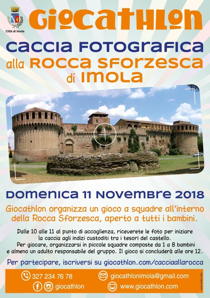 CACCIA ALLA ROCCA 11.11.2018 VOLANTINO