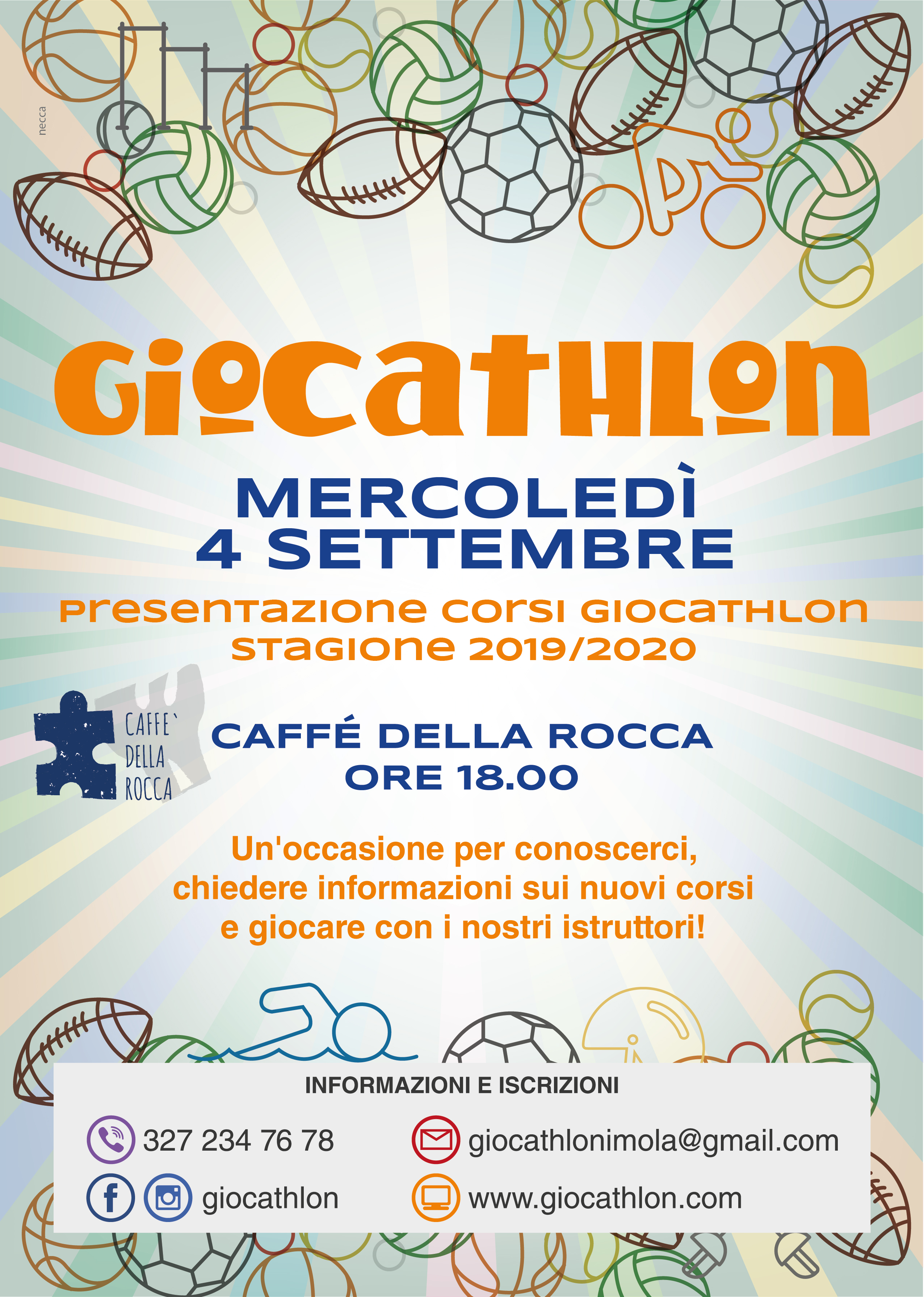 LOCANDINA 4 SETTEMBRE CAFFé ROCCA